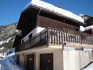 Location Grand chalet avec sauna photo 1