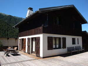Location Grand chalet avec sauna photo 3