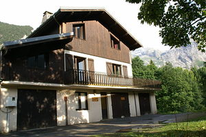 Location Grand chalet avec sauna photo 4
