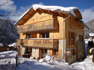 Location 1er étage d'un beau chalet photo 1
