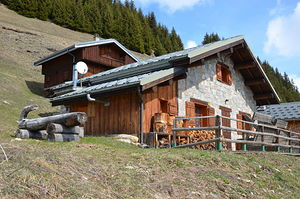 Location Chalet d'Alpage photo 1