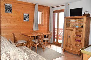 Location Style montagne avec agréable balcon photo 1
