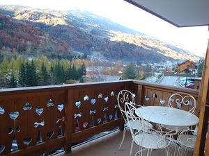 Location Style montagne avec grand balcon sud photo 6