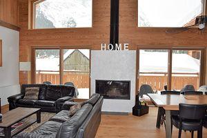 Location Très beau chalet récent - Intérieur chaleureux et moderne photo 5